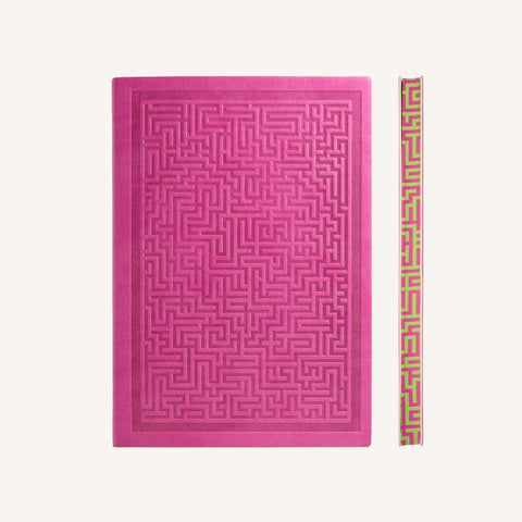 Daycraft Signature Amazer Notebook (A5, Lined, Pink)