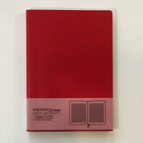 Rouge Notebook (A5, Lined)