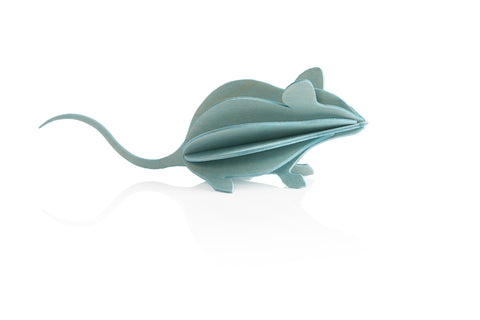M Mouse, Light Blue (15cm)