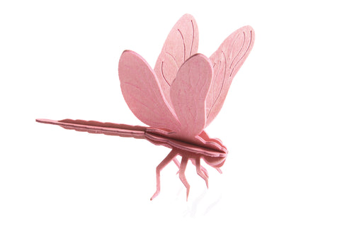 S Dragonfly, Pink (10cm)