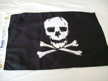 "12""x18"" Pirate Flag"