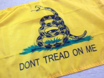 Gadsden Flag- Two Sizes Available