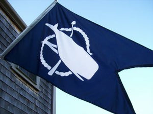 Nantucket Burgee Flag- Two Sizes Available
