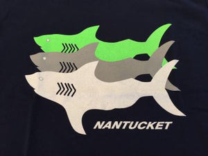 Kids Nantucket Shark Tee