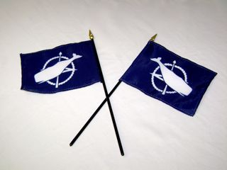 Nantucket Mini Flag
