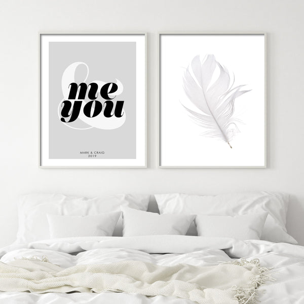 PERSONALISED YOU & ME