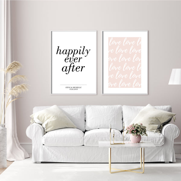 PERSONALISED HAPPILY EVER AFTER