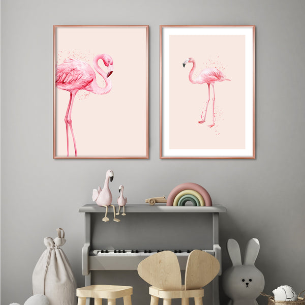 FLAMINGO ILLUSTRATION NO.2