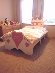 Crown Themed Low Sleeper Bed