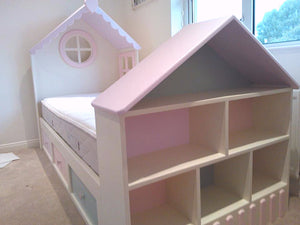 Dollhouse Themed Low Sleeper Bed