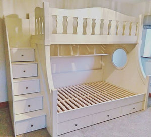 Bunk Bed Shelving Unit