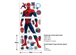 Marvel Spiderman Large Character Room Sticker