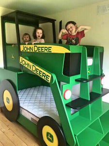 Tractor Themed Bunk Bed