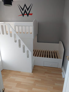 L Shaped Triple Bunk Bed