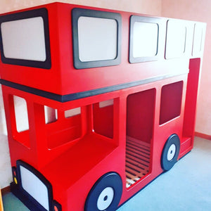 Bus Themed Bunk Bed
