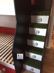 Football Themed Bunk Bed