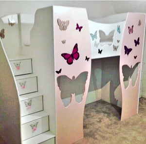 Butterfly Playhouse Bed