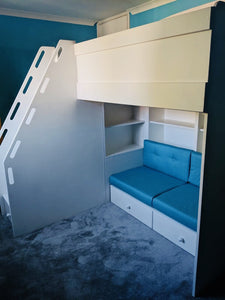 High Sleeper Seating Bed