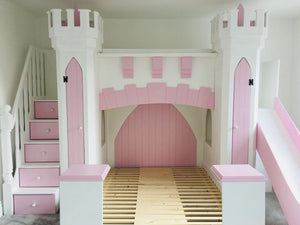 Skye Castle Themed Bed