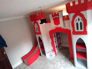 Castle themed bunk beds