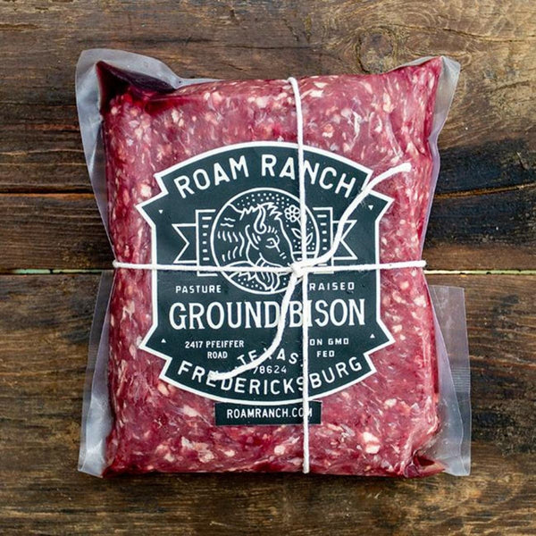 Roam Ranch Ground Bison (95/5 Blend)