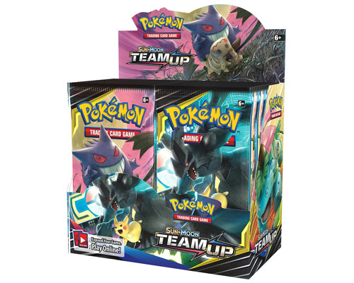 Pokemon Team-Up Booster Box | Myrtle Beach Games & Comics