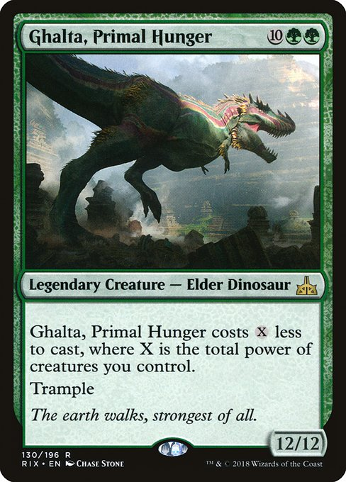 Ghalta, Primal Hunger [Rivals of Ixalan]  | My Pop Culture | New Zealand