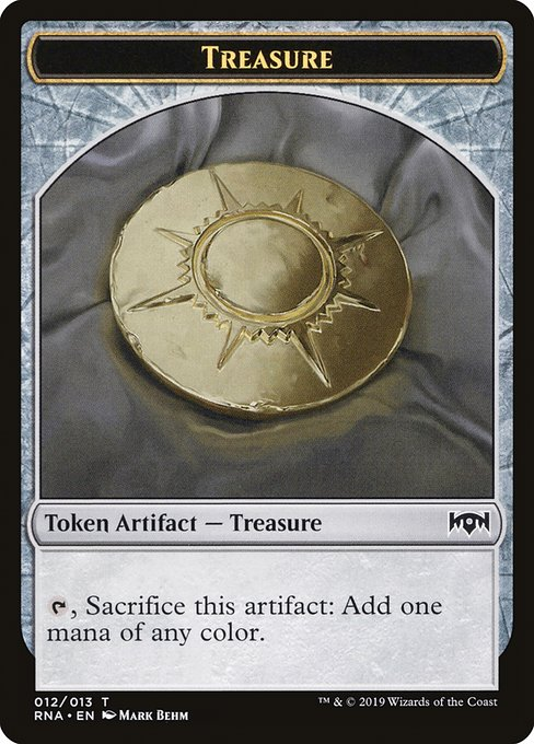 Treasure [Ravnica Allegiance Tokens]  | My Pop Culture | New Zealand