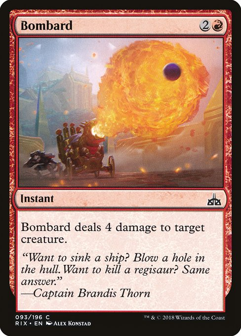 Bombard [Rivals of Ixalan] | Myrtle Beach Games & Comics