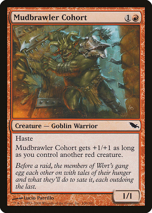 Mudbrawler Cohort [Shadowmoor] | Myrtle Beach Games & Comics