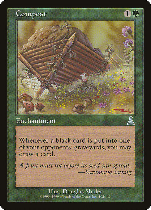 Compost [Urza's Destiny] | Myrtle Beach Games & Comics