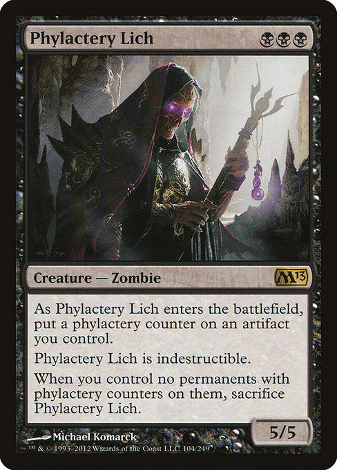 Phylactery Lich [Magic 2013] | Myrtle Beach Games & Comics
