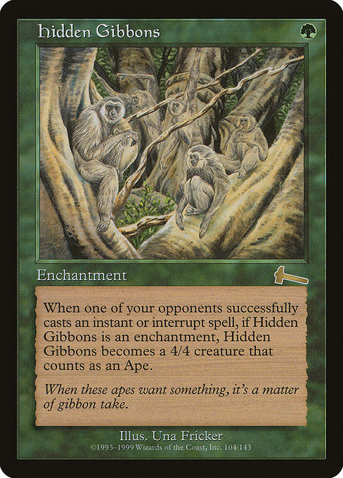 Hidden Gibbons [Urza's Legacy] | Myrtle Beach Games & Comics