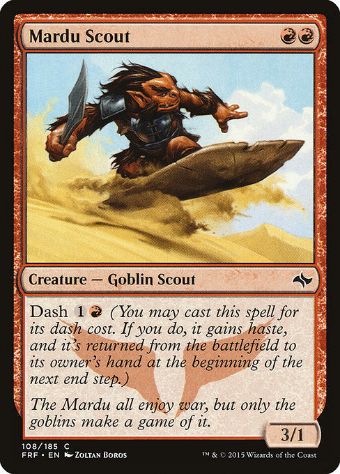 Mardu Scout [Fate Reforged] | Myrtle Beach Games & Comics