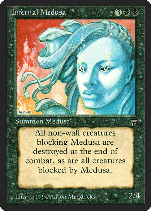 Infernal Medusa [Legends] | Myrtle Beach Games & Comics