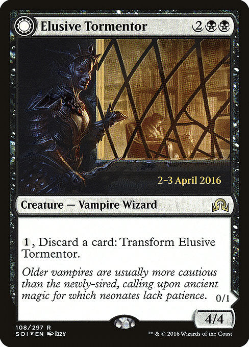 Elusive Tormentor // Insidious Mist [Shadows over Innistrad Promos]  | My Pop Culture | New Zealand