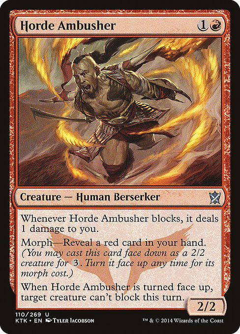 Horde Ambusher [Khans of Tarkir] | Myrtle Beach Games & Comics