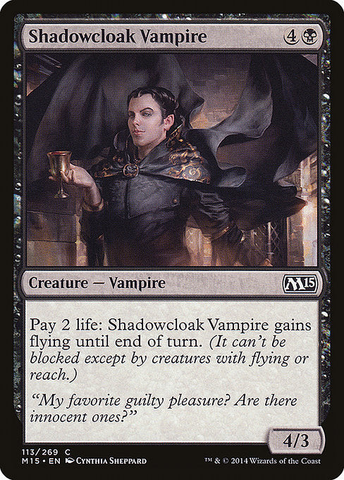 Shadowcloak Vampire [Magic 2015] | Myrtle Beach Games & Comics