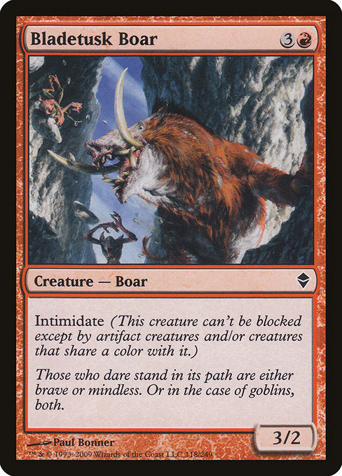 Bladetusk Boar [Zendikar]  | My Pop Culture | New Zealand