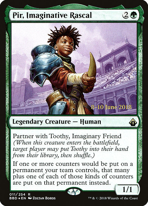 Pir, Imaginative Rascal [Battlebond Promos] | Myrtle Beach Games & Comics