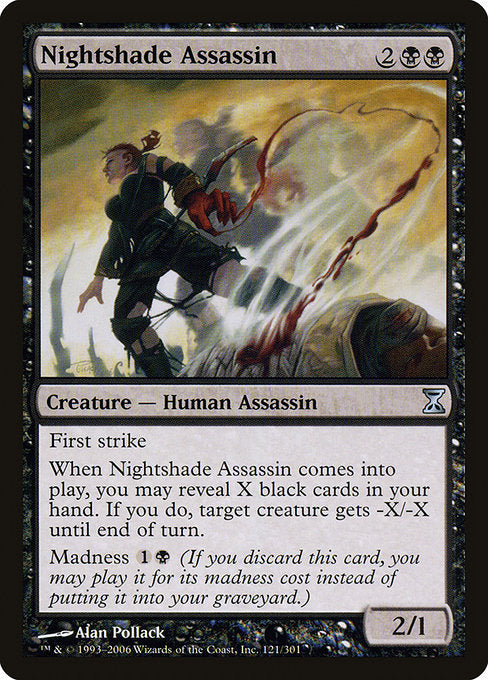 Nightshade Assassin [Time Spiral] | Myrtle Beach Games & Comics