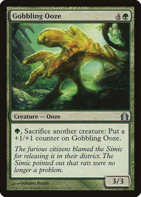 Gobbling Ooze [Return to Ravnica] | Myrtle Beach Games & Comics