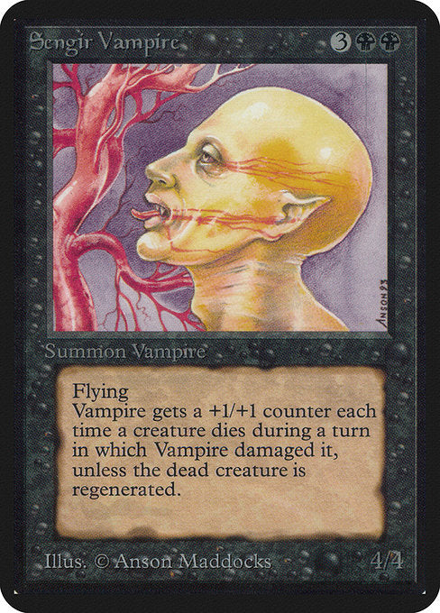 Sengir Vampire [Limited Edition Alpha] | Myrtle Beach Games & Comics