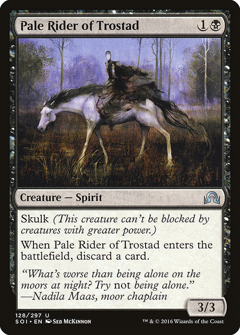 Pale Rider of Trostad [Shadows over Innistrad] | Myrtle Beach Games & Comics