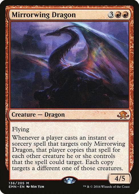 Mirrorwing Dragon [Eldritch Moon] | Myrtle Beach Games & Comics