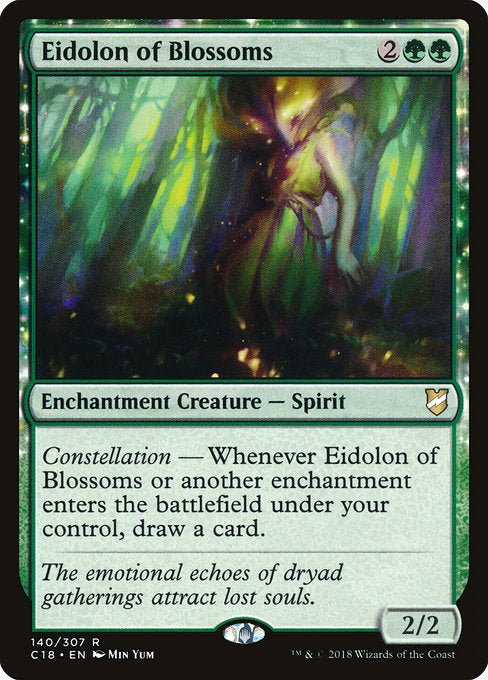Eidolon of Blossoms [Commander 2018] | Myrtle Beach Games & Comics
