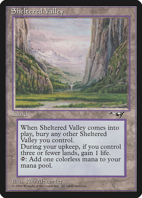 Sheltered Valley [Alliances] | Myrtle Beach Games & Comics