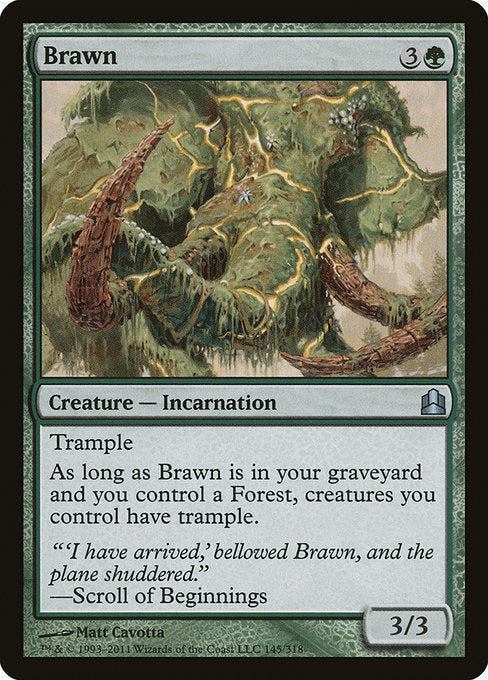Brawn [Commander 2011] | Myrtle Beach Games & Comics