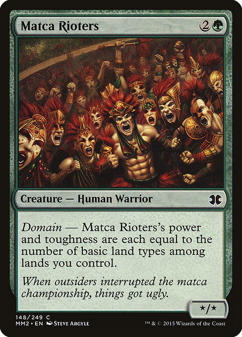 Matca Rioters [Modern Masters 2015] | Myrtle Beach Games & Comics
