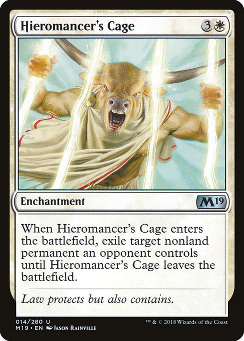 Hieromancer's Cage [Core Set 2019]  | My Pop Culture | New Zealand